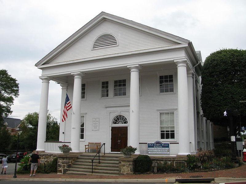 fairfax old town hall